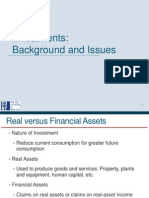 1. Investments - Background and Issues(1)