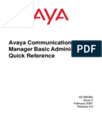Avaya Com Manager Basic