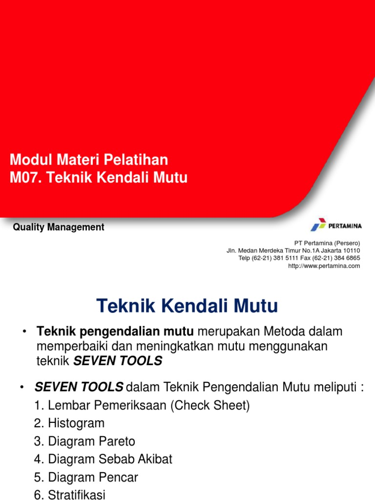 M07 teknik kendali mutu rev 02 ccuart Gallery