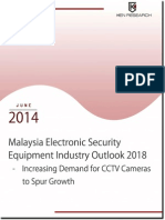 Malaysia Electronics Security Equipment Market Outlook to 2018