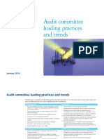 Audit Committee Leading Practices and Trends