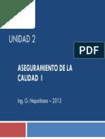 MAAxiv 2013 SGAC Unidad2 2013 GesCalidad