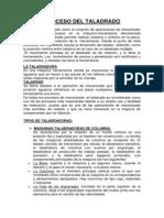 Proceso Del Taladrado