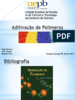 Aditivação de Polímeros