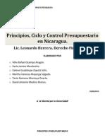 Breve Informe Sobre Los Principios Presupuestarios, Ciclo y Control Presupuestario