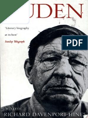 R P T  Davenport-Hines] Auden | Physician | Religion