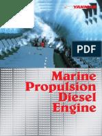 Yanmar engine for ship