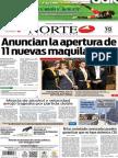 Periódico Norte edición impresa del día 10 de junio del 2014