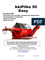 Hakki Pilke BigX50 Manual