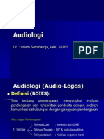Audiologi I Dr.ys