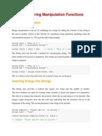 String functions in C#.Net