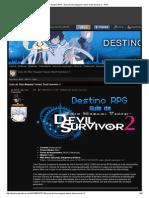 Destino RPG - Guía de Shin Megami Tensei_ Devil Survivor 2 - RPG