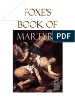 Foxes Book of MARTYRS