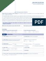 UK Visa Form