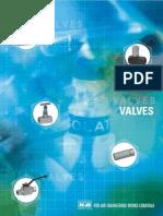 Valves for power plants