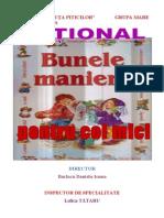 OPTIONAL - Bunele Maniere Pt. Cei Mici