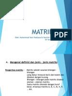 matriksmateripembelajaranhanifahfauziahmuhammadyossihadiyosoxiiipaln-131108174938-phpapp01
