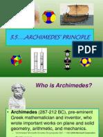 3 5 Archimedes Princincple