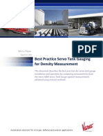 Servo Density Measurements