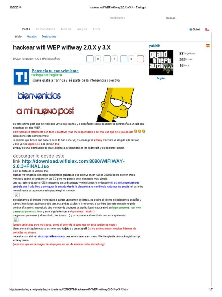 2.0.3 ISO WIFIWAY GRATUIT TÉLÉCHARGER
