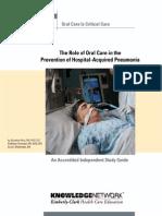 4 -Oral Care Study Guide