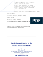 The Tribes and Castes of the Central Provinces of India—Volume I