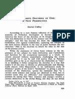 Coffey-The Palamite Doctrine of God