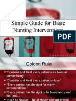 Simple Guide for Basic Nursing Interventions