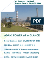 Adani Power_Unit Lightup Synchronisation & Shutdown
