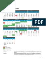 Calendario Escolar 2014 2015