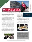 Mittagspost 11 2014