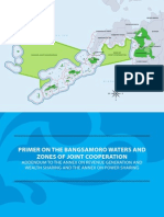 Primer on the Bangsamoro Waters and Zones of Joint Cooperation