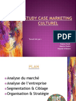 Study Case Marketing Culturel