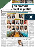 La Nouvelle Gazette - Casting Des Ministrables - 06.06.14