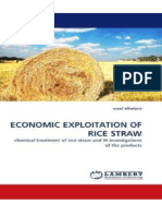 Economic Exploitation of Rice Straw