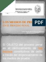 Medios de Prueba Proceso Penal