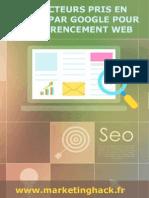 100 conseils pour référencer un site ou un blog sur Google
