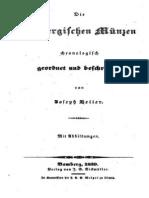 Die bambergischen Münzen / chronologisch geordnet und beschr. von Joseph Heller