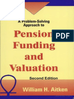 A Problem Solving Approach to Pension Funding and Valuation