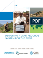 Designing a Land Records System for the Poor
