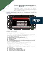 Navigation Voiture Pour Chevrolet Express Van Avec Radio TV Bluetooth