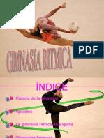Presentación de Gimnasia Ritmica