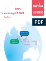 Water Operators' Partnerships in Asia