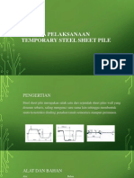 Metoda Pelaksanaan Temporary Steel Sheet Pile1
