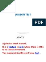 Lugeon Test
