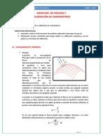Laboratorio Nº2-Medición de Presión y Calibración de Manómetros