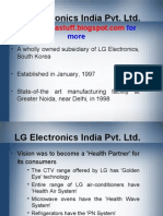 LG Electronics India Pvt. Ltd.