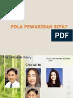 Pola Pewarisan Sifat Pspd 2013