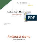 Analisis Micro Macro Entorno