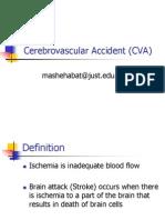 Cerebrovasular Accident